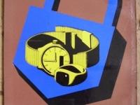 Loft design Retro munkavédelmi plakát 6