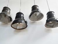 Loft design régi old alte ipari industrial industriell nagy zománclámpa large enamel lamp große Emaille Lampe csarnoklámpa hall light Hallenlicht shabby chic rusty style artkraft