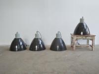 Loft design ipari csarnoklámpa indusrtial industriell hall lighting Flurleuchten zománclámpa Emaille Lampe enamel lamp