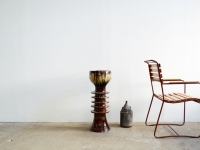 Loft design kerámia virágtartó oszlop ceramic flower Upright Keramik Blume Aufrechte