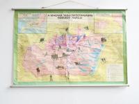 Loft design régi történelmi térkép Alte historische Karte Old historic map dekoráció dekoration decoration shabby chic rusty artkraft