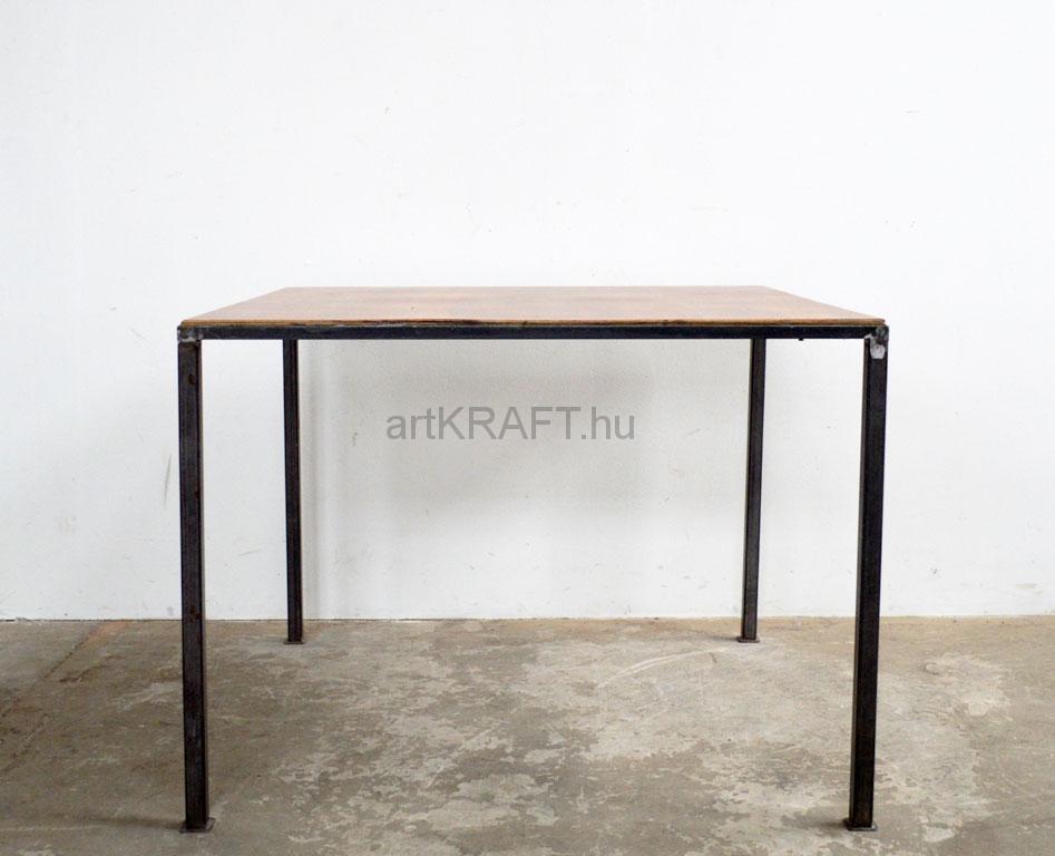 Tisch Mit Metallbeinen 4-personen-tisch mit metallbeinen - artkraft loftdesign