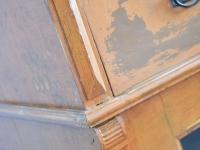 Loft design ónémet szekrény Alte deutsche Schrank old German cabinet üveges szekrény glass cabinet ipari industrial industriell shabby chic rusty style artkraft