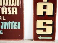 Loft design óra reklámtábla clock billboard Uhr Plakatwand dekoráció dekoration decoration ipari industrial industriell shabby chic rusty style artkraft