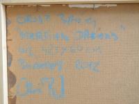 loft design Orosz Balázs Marsian Dreams absztrakt eredeti olaj festmény original abstract oil painting ursprünglichen abstrakten Ölgemälde Balaton nyár summer Sommer