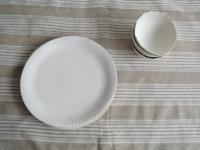Paper plate Judit Lantos ceramics