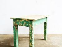 Loft design patinás dohányzóasztal coffee table Couchtisch ipari industrial industriell shabby chic rusty style artkraft