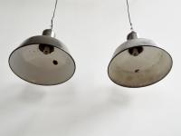 Loft design régi old alte ipari industrial industriell csarnoklámpa hall light Hallenlicht zománclámpa enamel lamp Emaille Lampe