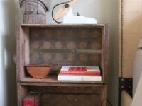 Loft design Duplex loft lakás régi fa rekeszek old wood crates