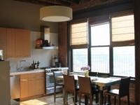 Loft design Duplex loft lakás konyha kitchen 2