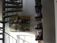 Loft design Duplex loft lakás csigalépcső spiral staircase
