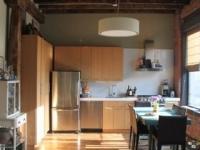 Loft design Duplex loft lakás konyha kitchen