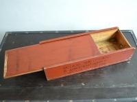 Loft design faláda wooden box Holzkiste lerakó asztal side table Beistelltisch fatároló storage timber Lagerung Holz
