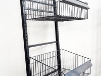 Loft design rácsos polc Lattice shelf Latten Regale ipari industrial industriell shabby chic rusty style artkraft