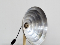 Loft design régi kvarclámpa old quartz lamp alte Quarzlampe hangulatfény mood lighting Stimmungslicht asztali lámpa table lamp Tischleuchte ipari industrial industriell shabby chic rusty style artkraft