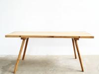 Loft design Régi bontóasztal butcher table Metzger Tisch dolgozóasztal working table Arbeitstisch étkezőasztal dining table Esstisch ipari industrial industriell shabby chic rusty style artkraft
