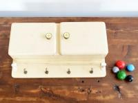Loft design régi fürdőszobai fali szekrény old bathroom wall cabinet alte Bad Wandschrank ipari industrial industriell shabby chic rusty style artkraft