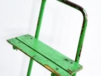 Loft design régi festőpad old painter bench alte Maler Bank ipari industrial industriell shabby chic rusty style artkraft