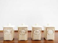 Loft design kerámia fűszertartó szett ceramic spice rack set Keramik Gewürzregal Set dekoráció dekoration decoration ipari industrial industriell shabby chic rusty style artkraft