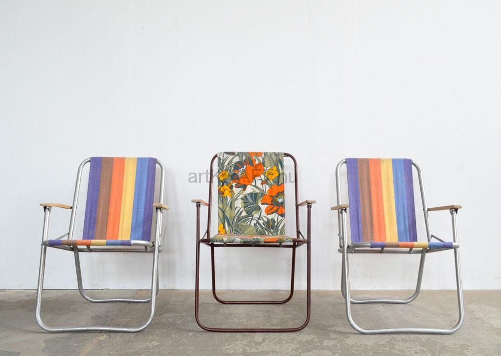 Campingstuhl Retro.Retro Camp Chairs 3 Pcs Artkraft Loftdesign