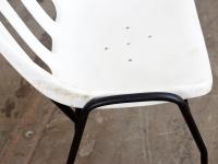 Loft design kerti szék garden chair Gartenstuhl műanyag kerti szék plastic garden chair Plastikgartenstuhl ipari industrial industriell shabby chic rusty style artkraft