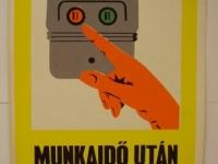 Loft design Retro munkavédelmi plakátok