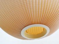 Loft design retró papír mennyezeti lámpa Papier Retro-Deckenleuchte paper retro ceiling light ipari industrial industriell shabby chic rusty style artkraft