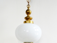 Loft design réz üveglámpa copper glass lamp Kupferglaslampe ipari industrial industriell shabby chic rusty style artkraft