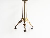 Loft design réz mennyezeti lámpa Kupfer Deckenleuchte copper ceiling lamp csillár chandelier Kronleuchter shabby chic rusty style artkraft