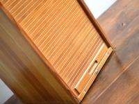 Loft desig ipari industrial industriell rolós tároló asztali tároló blind storage desktop storage Blindspeicher Desktop-Speicher