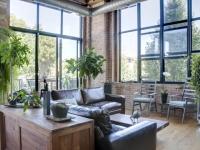 Loft design Rusztikus loft lakás 2