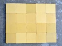 loft design régi sárga járólap csempe old yellow tiles alte gelbe Fliesen ipari industrial industriell shabby chic rusty style artkraft