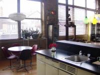 Loft design Festő loft lakás Chicago 3