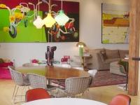Loft design Festő loft lakás Chicago 4
