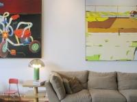 Loft design Festő loft lakás Chicago 5
