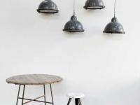 Loft design régi industrial ipari industriell alumínium mennyezeti lámpa aluminum ceiling lamp Aluminium-Deckenleuchte shabby chic rusty style artkraft