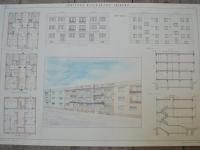 Loft design Régi építészeti tervrajzok Architectural Blueprints Architektonische Bauplaene