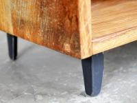 Loft design tölgy kis szekrény Eiche Kleiderschrank oak small cabinet ipari industrial industriell shabby chic rusty artkraft