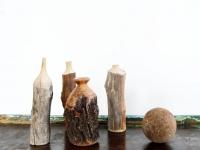 Loft design újrahasznosított fa dekorációk Recycelte Holzdekorationen Recycled wood decorations shabby chic rusty style artkraft