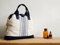Loft design utazótáska travel bag Reisetasche kézitáska handbag Handtaschen original Reisetasche aus alten Strohsack