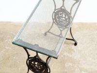 Loft design üveg dolgozóasztal laptop Arbeiten mit Glastisch working with glass table lerakó asztal Beistelltisch side table ipari industrial industriell shabby chic rusty style artkraft