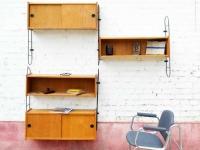 Loft design variálható fali polcrendszer Variable wall shelf system Variable Wandregale ipari indusrial industriell shabby chic rusty style artkraft