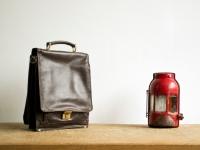 Loft design bag vintage bőr kézitáska vintage leather handbag Vintage Leder Handtasche