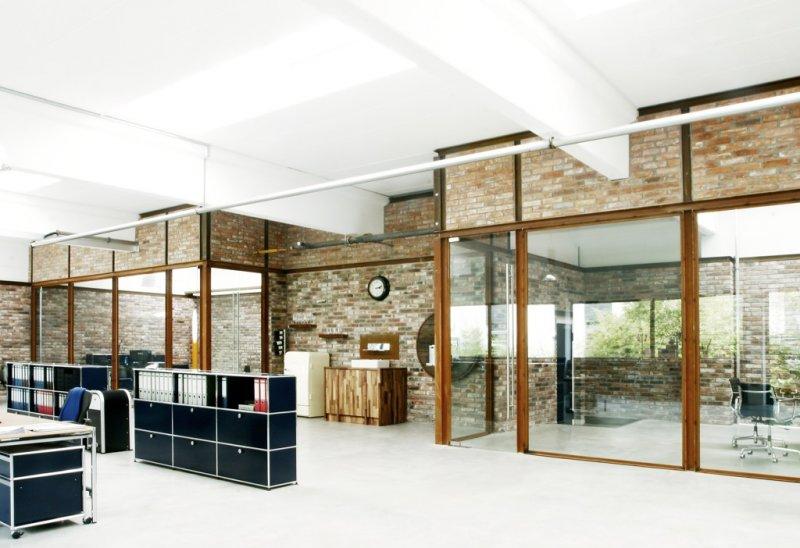 Office with industrial-style | artkraft Loftdesign