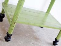 Loft design chamber's table Kammertisch kamra asztal simple country table wooden table vintage egyszerű faasztal lerakóasztal Beistelltisch side table ipari industrial industiell shabby chic rusty style artkraft