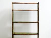 Loft design régi stelázsi könyvespolc bookshelf Bücherregal tálalószekrény sideboard Anrichte