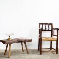 Loft design ipari régi fa bontó dohányzó asztal Alte hölzerne folk Couchtisch Old wooden coffee table industrial industriell shabby chic rusty style artkraft