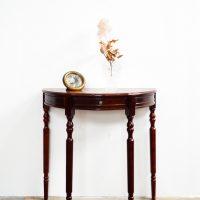 Loft design bőrözött konzolasztal skinned console table gehäuteter Konsolentisch lerakóasztal Beistelltisch side table ipari industrial industriell shabby chic rusty style artkraft