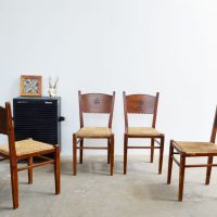 Loft design régi svéd parasztszék alter schwedischer Bauernstuhl old Swedish peasant chair étkezőszék dining chairs Esszimmerstühle ipari industrial industriell shabby chic rusty style artkraft