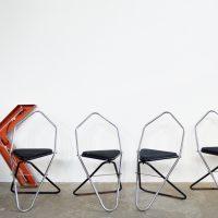 Loft design geometrikus szék geometric chair geometrischer Stuhl vendégszék Besucherstuhl guest chair étkezőszék dining chairs Stühle ipari industrial industriell shabby chic rusty style artkraft